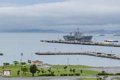 USS Blue Ridge (LCC 19) arrives at White Beach Naval Facility, May 24. (U.S. Navy/MC2 Matthew Dickinson)