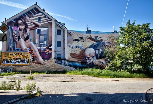 Prague wall by Mr Chemis