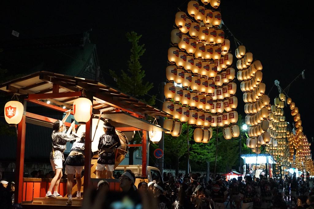 秋田竿燈まつり 旅行記