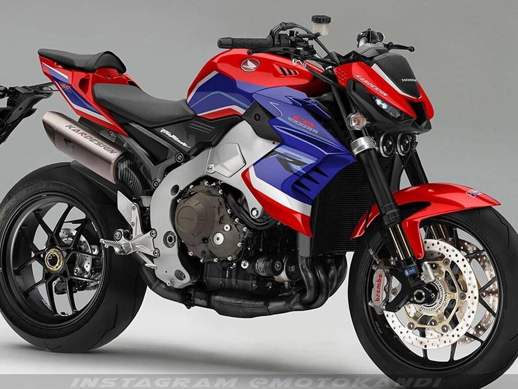 Design CB1000R FireBlade 2021