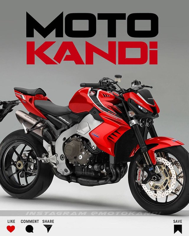 Moto Kandi Design CB1000R Red
