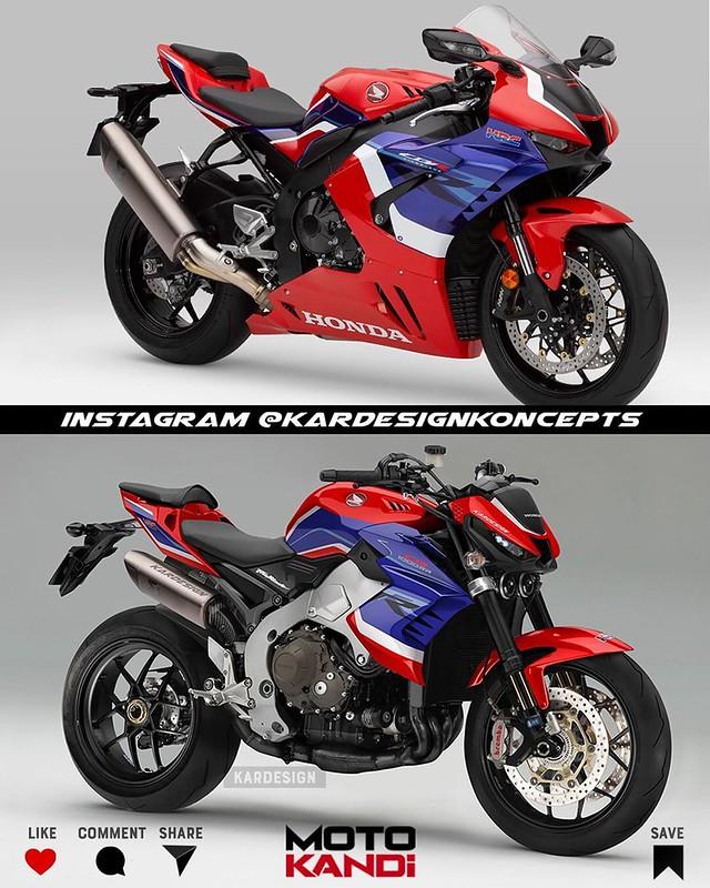 Moto Kandi Design CB1000R 2021 FireBlade
