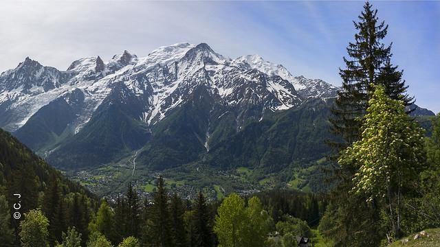 Massif du Mont-Blanc ! The Mont-Blanc range !