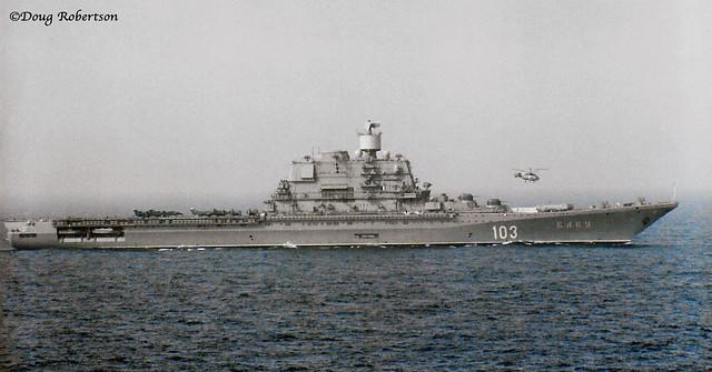 Kiev Class Aircraft Carrier - Baku
