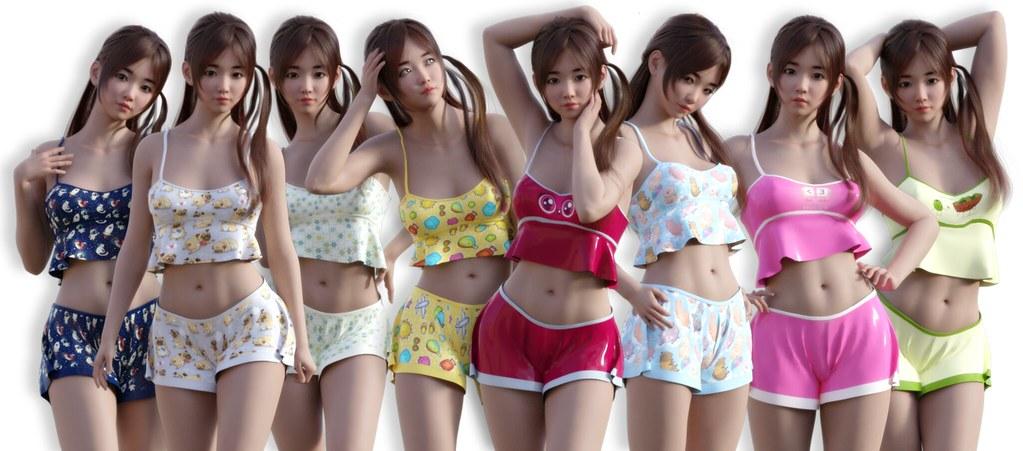 =NEKO= Summer Sleepwear