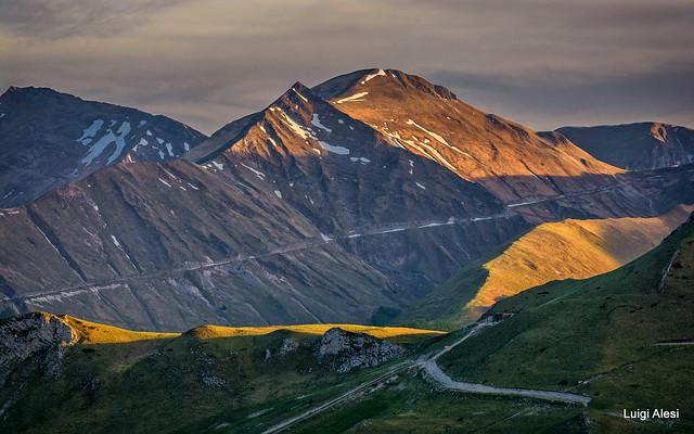 Sibillini National Park - luci al tramonto