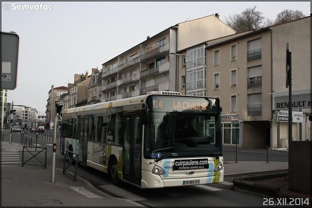 Heuliez Bus GX 327 – RTP (Régie des Transports Poitevins) / Vitalis n°87