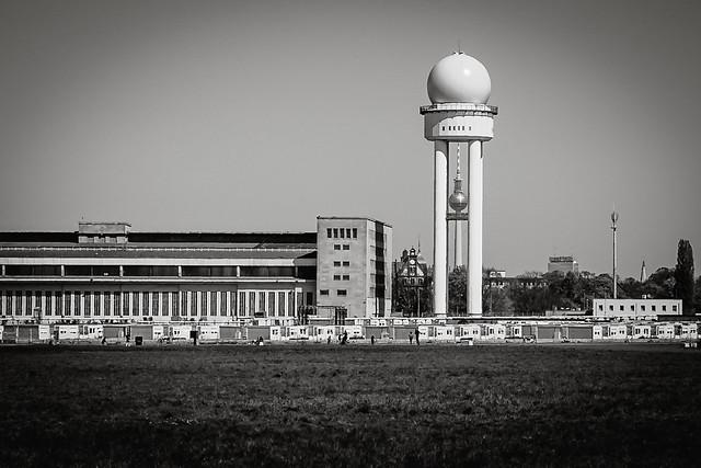 Radar und Fernsehturm