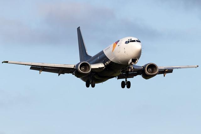 G-JMCT West Atlantic Airlines B737-300 East Midlands Airport