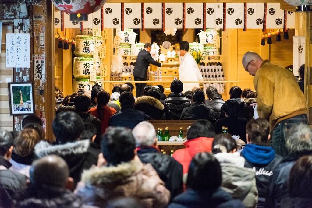 高龍神社と蒼柴神社に初詣