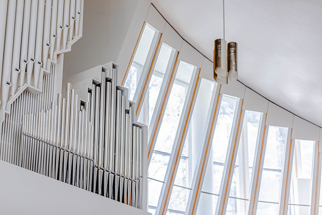 Church of the Three Crosses by Alvar Aalto (1958)