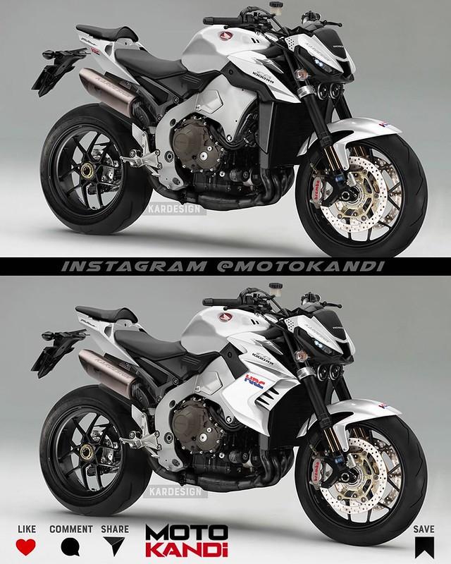 Moto Kandi Design CB1000R 2021 White