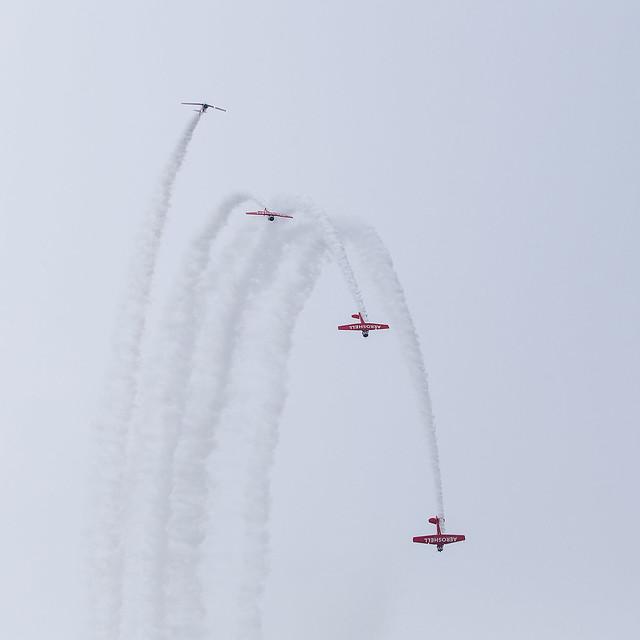 T-6 Aero Shell team, Oshkosh