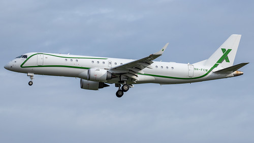 AIR X Charter _ Embraer Lineage 1000 _ 9H-FCM (@HAM 24.05.2020) | by Sebastian Lupp