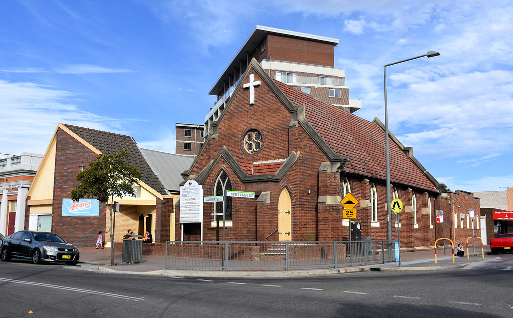 Uniting Church, Fairfield, Sydney, NSW.