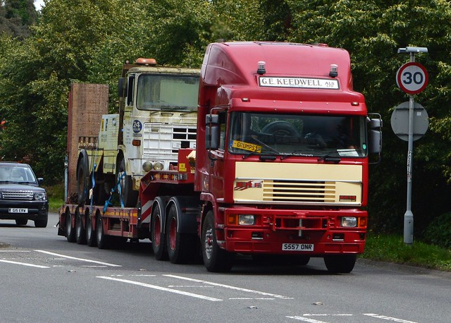 G E Keedwell S557 ONR At Welshpool