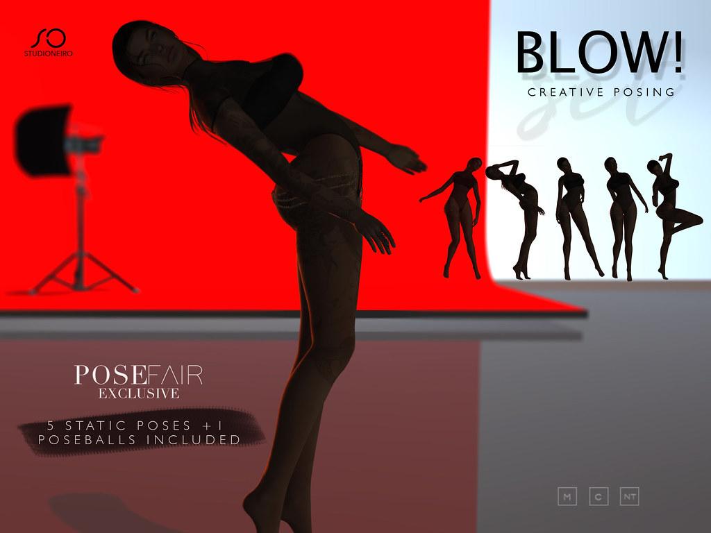 :studiOneiro: Blow set @ POSE Fair Market