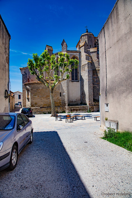 Bram, village occitan