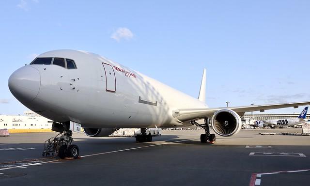 Kalitta Air B767-300F N765CK resting at NRT/RJAA