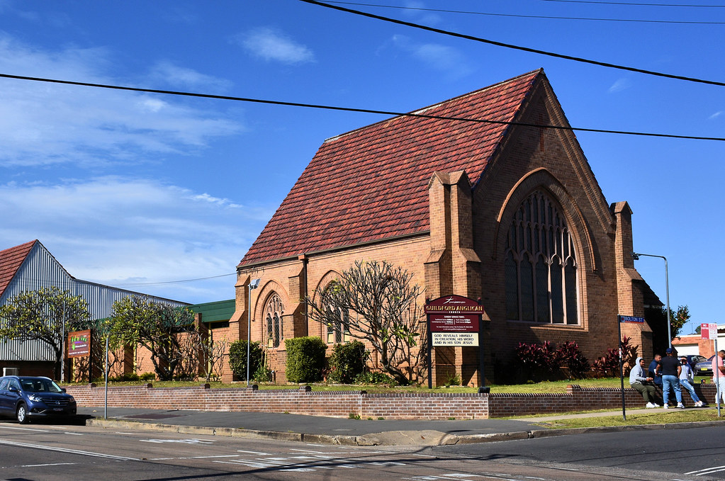 Guilford Anglican Church, Guilford, Sydney, NSW.