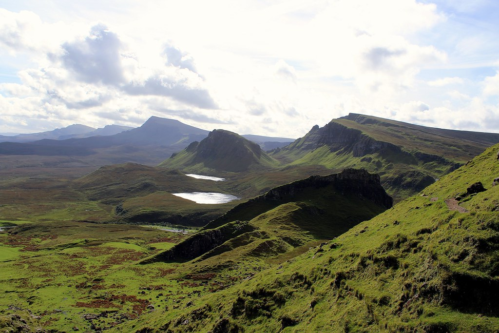 The 'Central Massif' of the Isle of Skye Scotland - 22.9.2016