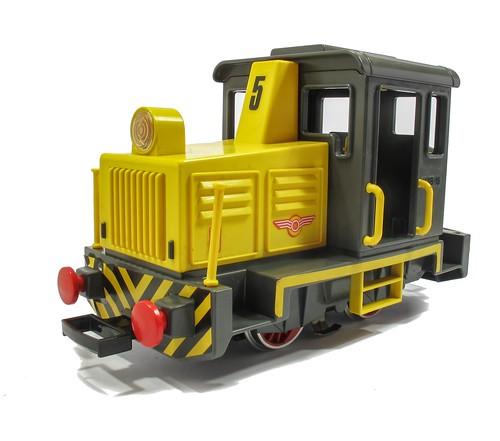 Playmobil diesel front