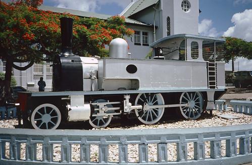 Trinidad Railways monument, San Fernando