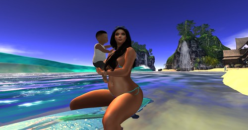 Maui & his sweet Mother