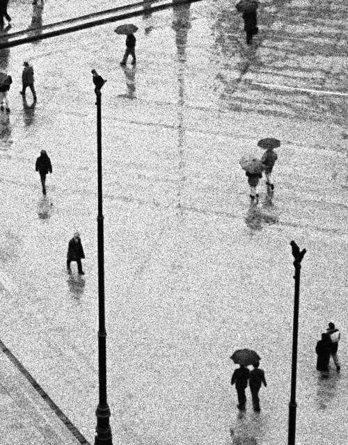 Rain, santiago, Chile, 1994