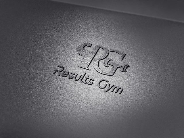 R G  Gym modern professional minimalist unique logo design