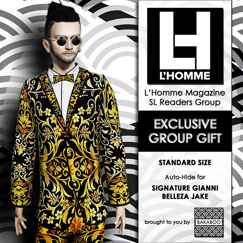 Bakaboo - L'Homme Magazine Readers Group Gift Feb 20