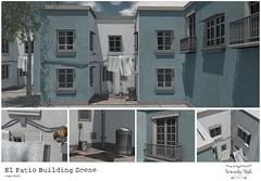Serenity Style- El Patio Building Scene ad