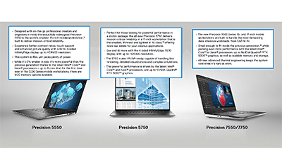Dell's new Precision portfolio.