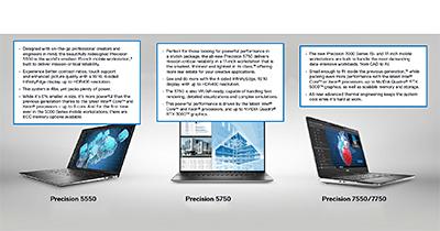 Dell's new Precision portfolio.