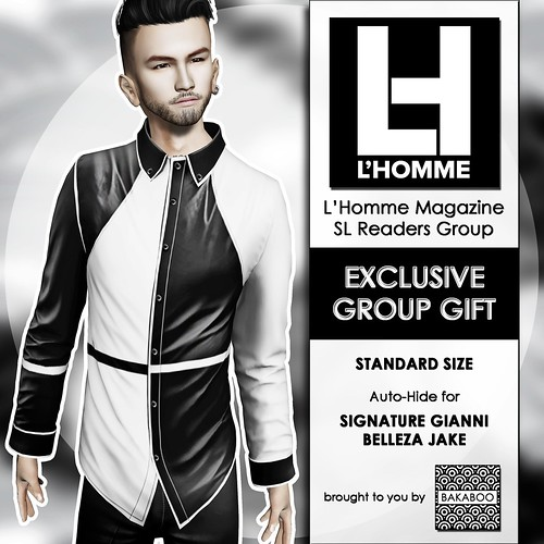 Bakaboo - L'Homme Magazine Readers Group Gift May 20