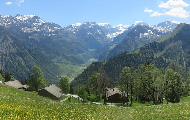 Views from Braunwald, Swiss Alps