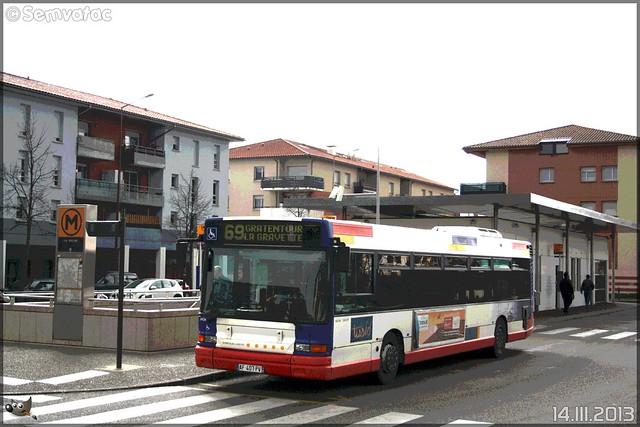 Heuliez Bus GX 317 – Tisséo n°0024