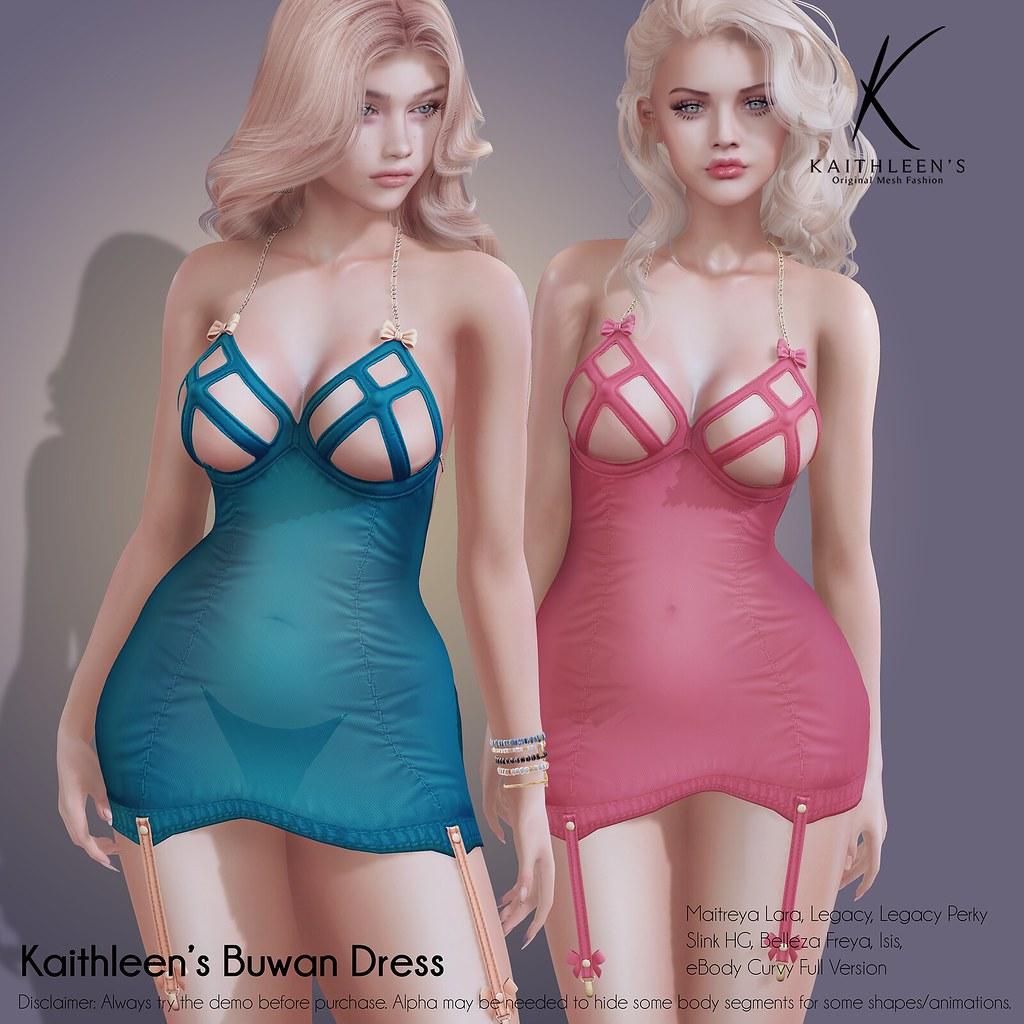 Kaithleen's Buwan Dress Poster web