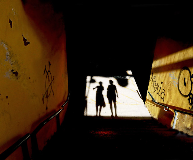 Dance Like Only Your Shadows Are Watching