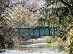 SOR670 SBB Railroad Bridge over the Sorne River, Delémont, Canton of Jura, Switzerland