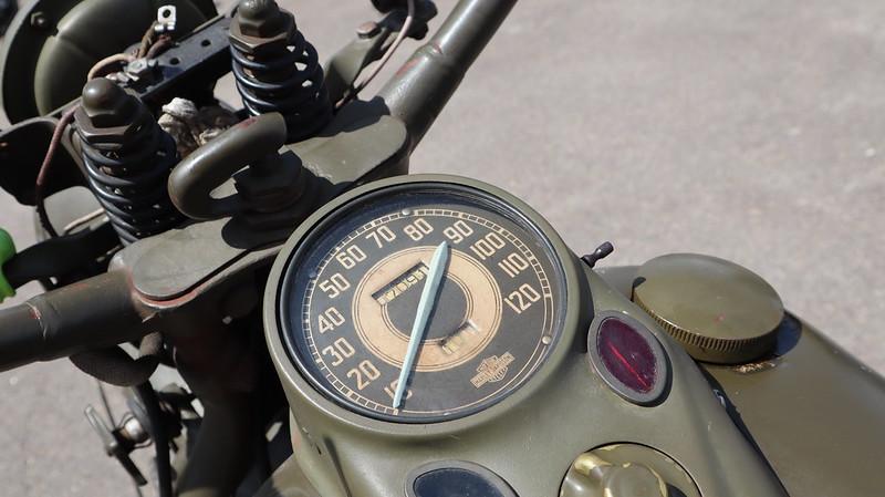 Harley Davidson 750 US Army 1943 reconstruction 49931629162_1d5cc0c4ef_c