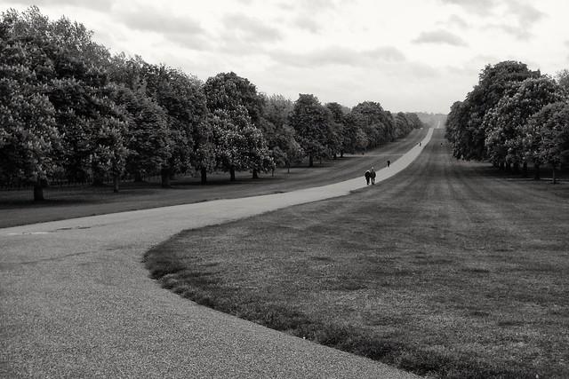 The Long Walk, Windsor, England