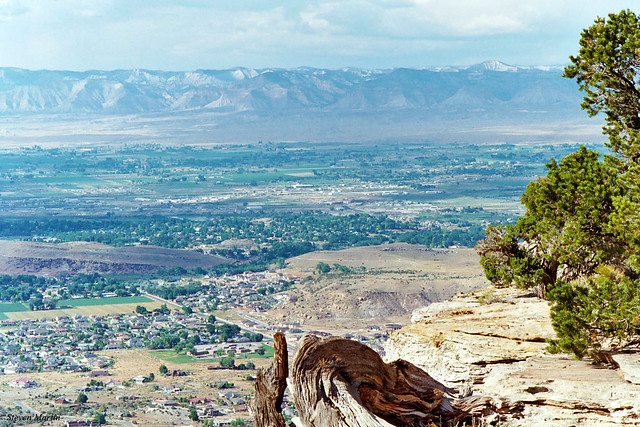Grand Valley from Rim, Colorado National Monument