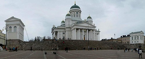 Helsinki Cathedral from Senate Square