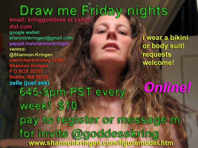 Draw Shannon Kringen every friday night