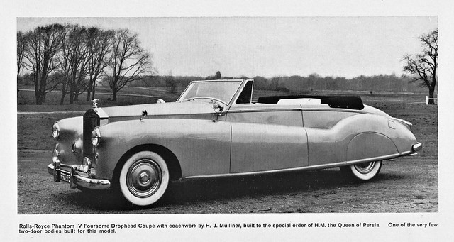 1951 Rolls-Royce Phantom IV Foursome Drophead Coupe
