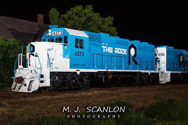 RI 4373   EMD GP38   Rock Island Rail