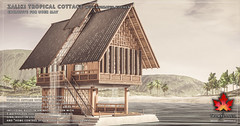 Trompe Loeil - Zaliki Tropical Cottage for Uber May