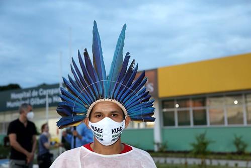 24.05.2020 Hospital de Campanha Municipal recebe mais pacientes indígenas