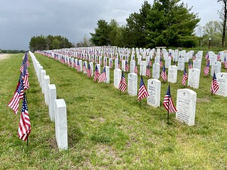 05-22-2020 Ride Wisconsin Veteran Memorial Cemetery - King,WI | by Dan Reynard